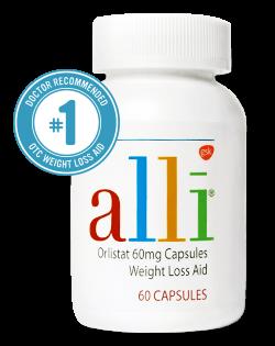 Alli - dieetpillen - afslankpillen - dieet pillen vergelijker - 250x315